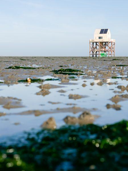 Vogelwachtershuisje Engelsmanplaat | Bernard Faber Architectuurfotografie